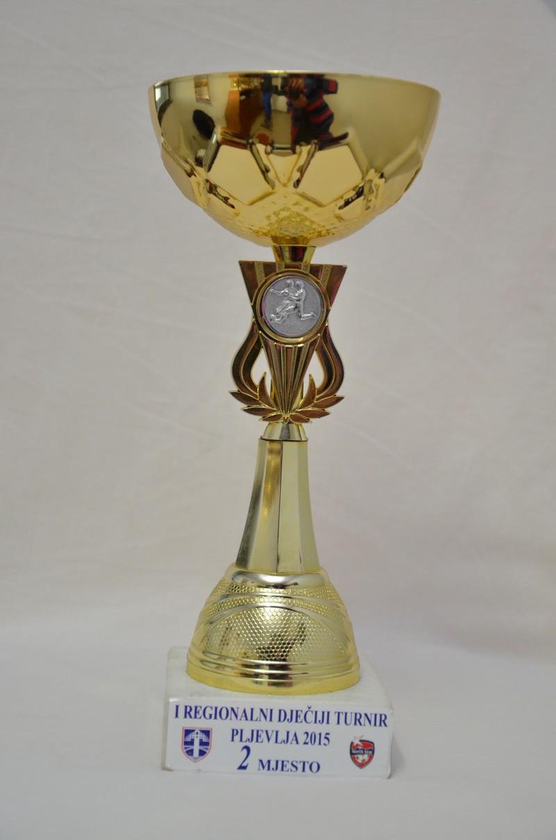 I регионални турнир Пљевља - 2.мјесто (2015)